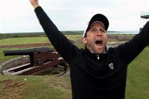 European Tour 'gunpowder golf shot' by Saatchi & Saatchi
