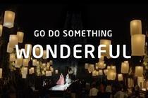 Intel 'go do something wonderful' by Wieden & Kennedy Amsterdam