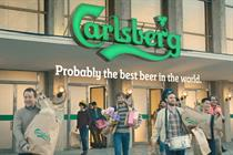 "Carlsberg ""supermarket"" by 72andSunny Amsterdam"