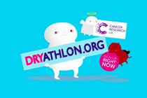 "Cancer Research UK ""Dryathlon 2016"" by Karmarama"