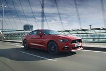 With a Hendrix soundtrack, Ford introduces Europe to the Mustang