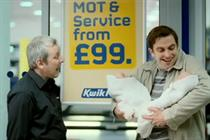 Kwik Fit 'amazed' by DDB UK