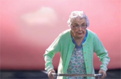 Frijj 'Run Granny Run' by Grey London