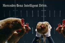 """Mercedes-Benz """"chicken"""" by Jung von Matt/Neckar"""