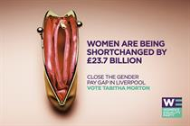 """Women's Equality Party """"Vote Tabitha Morton for Liverpool mayor"""" by Now"""