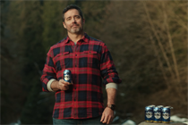 Busch introduces new spokesman and can branding in Super Bowl debut