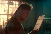 Dolph Lundgren will sell your stuff in a custom ad from Crispin