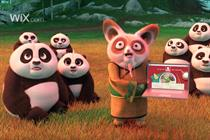 Wix.com partners with Kung Fu Panda for Super Bowl return