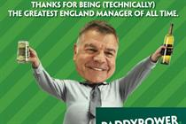 """Paddy Power """"Thank you Sam"""" by Lucky Generals"""