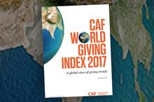 UK falls to eleventh place in World Giving Index