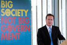 Charities will run state services under Tories, says Cameron