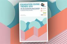 Most foundations increased grant-giving despite falling income, says report