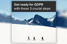 Don't get caught out: Start your journey to GDPR compliance in May 2018