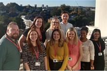 What is it like to work in the individual giving team at the British Heart Foundation?