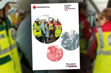 British Red Cross income at lowest level since 2013