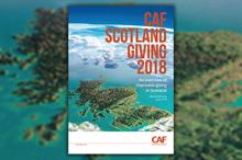 Giving in Scotland up by almost 50 per cent year on year, says CAF report