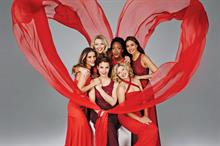 Celebrities: Ladies in red for the British Heart Foundation