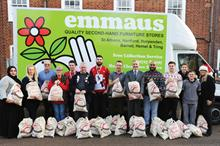 Corporate partnerships: First Port staff get behind Emmaus partnership
