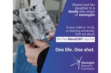 Third Sector Awards 2018: Communications Campaign of the Year - Meningitis Research Foundation for One Life. One Shot