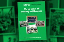 Business Charity Awards: Charity Partnership, Financial Services - Morgan Stanley with the NSPCC