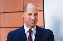 Prince William says charities should collaborate more