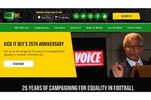 Charity Commission opens case into the anti-racism charity Kick It Out
