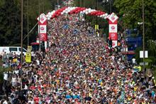 London Marathon runners raised a record £63.7m this year