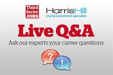 How to land your ideal charity job: Join our live Q&A for expert advice on 19 June, 1:30-2:30pm