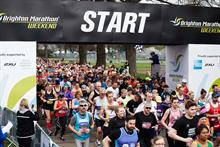 JustGiving is the new fundraising partner for the Brighton Marathon