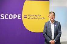 Scope appoints Mark Hodgkinson as chief executive