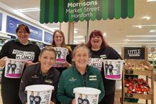 Clic Sargent extends Morrisons partnership