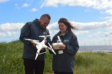 Lincolnshire charity uses drone to locate rough-sleepers