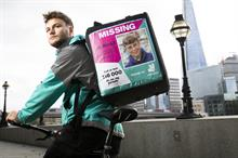 Business Charity Awards: Marketing Partnership of the Year - Deliveroo with Missing People