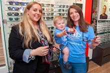 Corporate partnerships: Vision Express pays tribute to Childhood Eye Cancer Trust ambassadors