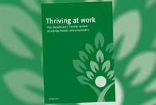 Report recommends improved mental health policies in the workplace