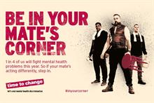 More than 100 roles at risk across mental health charities Time to Change and Mind