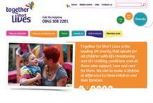 Third Sector Excellence Awards 2013: Best Website - Winner: Together for Short Lives