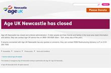 Age UK Newcastle closes down