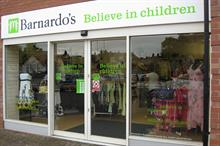 Income from Barnardo's charity shops up by 25 per cent