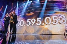 BBC Children in Need raises record on-the-night total