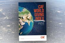 UK seventh most generous nation on 10th-anniversary CAF index
