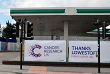 Cancer Research UK opens drive-through for clothes donations