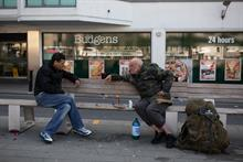 Homelessness charities offered £6m in emergency grants