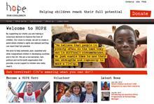 Site Visit: Hope for Children
