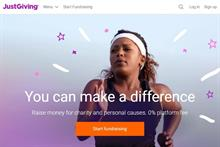 JustGiving increases profits by 10 per cent