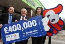 Business partner: The MND Association and the Midlands Co-operative Society