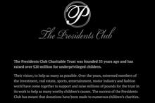 Regulator urges witnesses to Presidents Club dinner to come forward