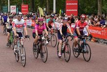 RideLondon fundraising total fell by £1.5m last year