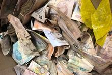 Charities to share £20,000 found in safe at a scrapyard