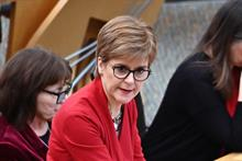 Charities can shift focus from economics to health and wellbeing, Nicola Sturgeon says